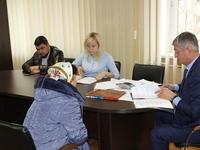 Андрей Ивкин провел личный прием граждан